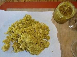 Royal kush wax crumble
