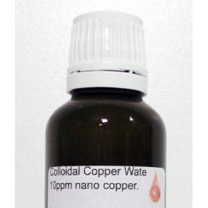 Buy Colloidal Copper Water 10 ppm nano copper 30 ML
