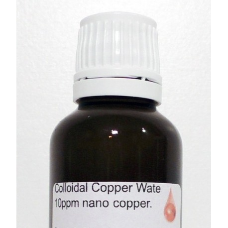 Buy Colloidal Copper Water 10 ppm nano copper 30 ML